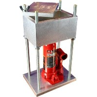 """THE BRICK PRESS, The Best Pollen Press in the Market, 4000 Pounds of Force! - Creates, 3"""" x 5""""..."""