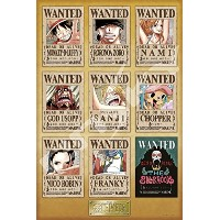 1000ピース ジグソーパズル ONE PIECE NEW WANTED POSTERS(50x75cm)