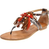 """Chinese Laundry """"Ginger Snap"""" Tan Multi NEW Spring 2012 6.0M(22.5~23㎝)"""