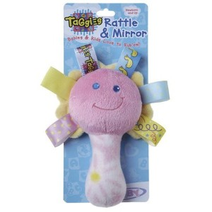 Taggies See Me Rattle - Yellow by Mary Meyer