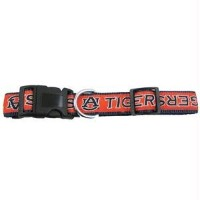 Pets First AUC-M Auburn Tigers Collar Medium