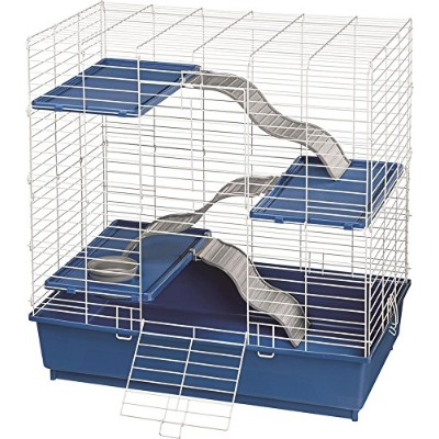 "Kaytee My First Home Multilevel Ferret Cage Durable Chew Proof Locks 30"" X 19"""