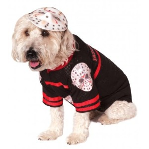 Rubies Costume Company Friday The 13th Jason Pet Costume, Small by Rubie's Costume Co