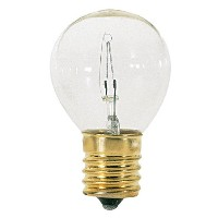 Satco S3729 Intermediate Base 40-Watt S11 Light Bulb, Clear by Satco