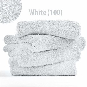 "Abyss Super Pile Wash Cloth (12""x12"") - White (100) by Abyss Habidecor [並行輸入品]"