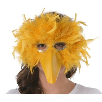 Zucker Feather Products Turkey Feather Big Bird Mask by Zucker Feather Products