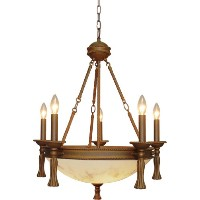 Volume Lighting V3448-31 Clifden Chandelier by Volume Lighting