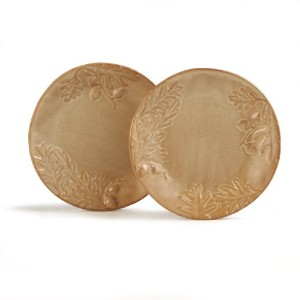 Caffco International Biltmore Inspirations Collection Olmsted Oak Salad Plates, Set of 2 by Caffco...