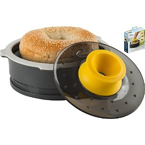 Trudeau Bagel Slicing Guide with Adjustable Thickness by Trudeau