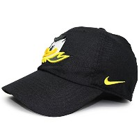 (ナイキ) NIKE OREGON DUCKS 【HERITAGE 86 AUTHENTIC ADJUSTABLE PERFORMANCE STRAPBACK/BLK】 オレゴン ダックス ...