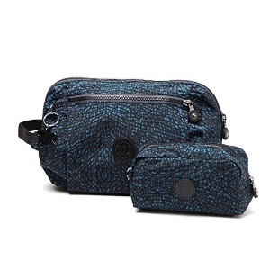 (キプリング) kipling ポーチ NEW TOILETRY BAG DUO Dragonfly Pr [並行輸入品]