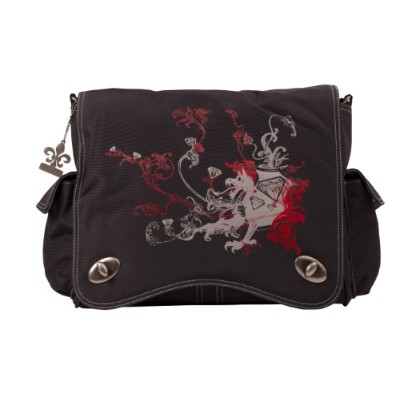 Kalencom Diaper Bag, Screened Black Dragon by Kalencom