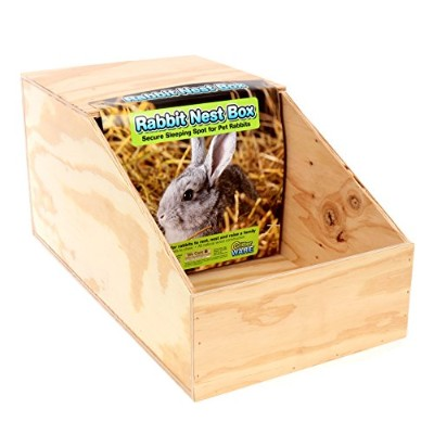 Ware Manufacturing Sierra Chicken Rabbits Wooden Nest Box Natural Wood Large
