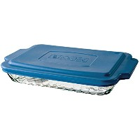 Anchor Hocking Bake-N-Take Dish with Snap On Cover by Anchor Hocking