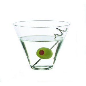 Libbey 13-1/2-Ounce Stemless Martini, Box of 12 by Libbey