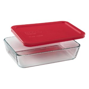 Pyrex Simply Store 3-Cup Rectangular Glass Food Storage Dish by Pyrex