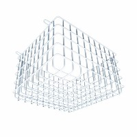 Leviton OSWCG-P0W OSW Ceiling/Wall Mount Sensor Protective Cage, White by Leviton