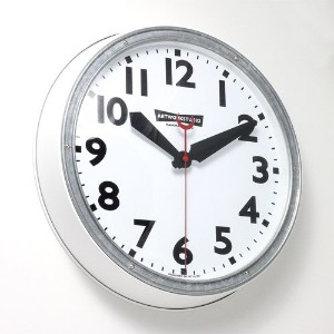 ART WORK STUDIO Engineered-clock TK-2072 [WH/WH ホワイト+ホワイト]