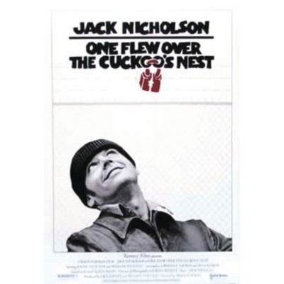 One Flew Over the Cuckoo's Nest Poster (68,5cm x 101,5cm)