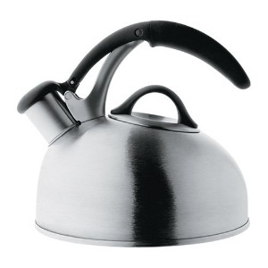 OXO Good Grips Pick Me Up Tea Kettle, Brushed Stainless [並行輸入品]