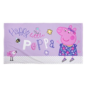 "Peppa Pig Uk ""happy"" Towel, Multi-colour"