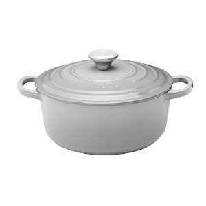 Le Creuset ル・クルーゼ シグニチャー ココット・ロンド 20cm ミストグレー Le Creuset Black