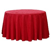 Zhhlaixing 高品質の Washable Round Tablecloth Home Decoration Luxury Table Cover Cloth Skirt