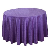 Zhhlaixing 高品質の Fashion Durable Round Tablecloth Home Decor Luxury Table Cloth Skirt 001