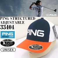 【PING STRUCTURED ADJUSTABLE】ピン キャップ 33404