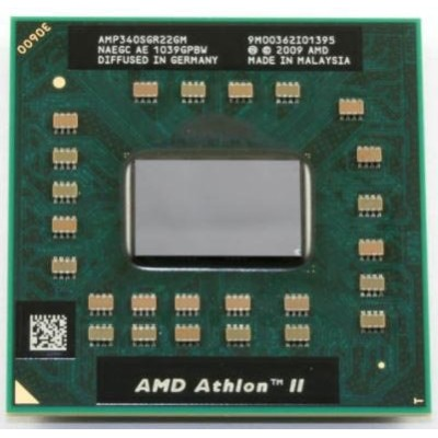 AMD Athlon II P340 モバイル  CPU Dual Core 2.2Ghz 2x512KB - AMP340SGR22GM