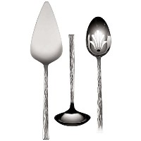 Wedgwood Hammered Serving Set