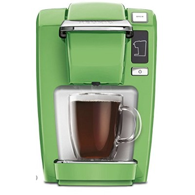 Keurig k15ブラックPlum/Greenery Single Serve Coffee Maker (最新、ひとつだカラー Single Serve グリーン