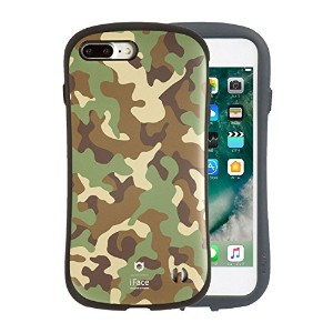 iFace First Class Military iPhone 8Plus / 7Plus ケース 耐衝撃 / カーキ