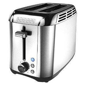 【並行輸入】Black & Decker TR3500SD Rapid Toast 2-Slice Toaster, Silver トースター