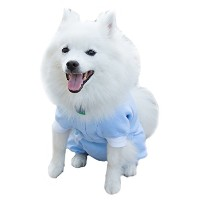 Cover Me by Tui Adjustable Fit Step-into with Long Sleeve for Pets, XX-Small, Blue by Cover Me by...