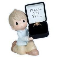 Precious Moments For The One I Love - Please Say Yes Figurine by Precious Moments [並行輸入品]