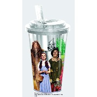 The Wizard of Oz 16 Ounce Insulated Acrylic Tumbler Cup ~ Dorothy Toto by Spoontique