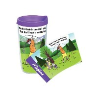 TervisホールマークMaxine Hole in One Tumbler with Wrap、473ml by Tervis