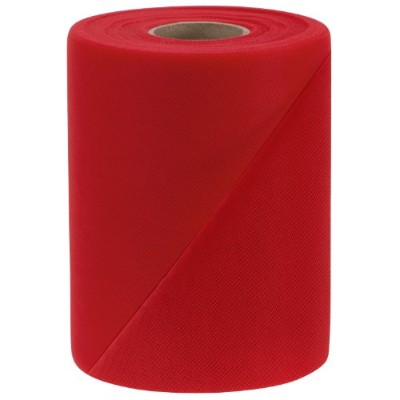 Falk Fabrics Tulle Spool, 6-Inch by 100-Yard, Red by Falk Fabrics LLC