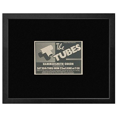 The Tubes - Hammersmith Odeon 20th-22nd June 1981 Framed Mini Poster - 18x20cm