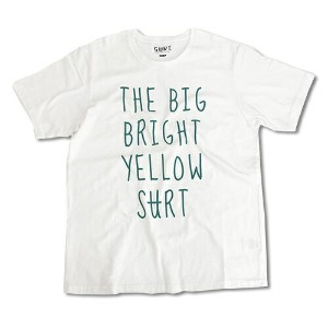 RHC Ron Herman (ロンハーマン): SURT THE BIG BRIGHT YELLOW SURT by SURT Tシャツ ホワイト