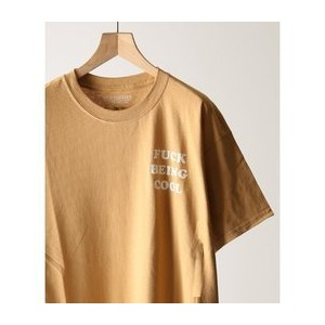 WILLY CHAVARRIA / ウィリーチャバリア :別注FUCK BEING COOL WILLY Tシャツ【ジャーナルスタンダード/JOURNAL STANDARD メンズ Tシャツ...