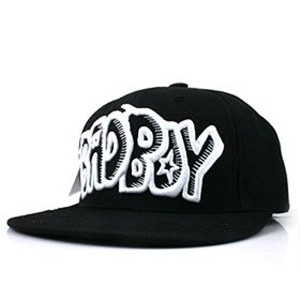 [帽子] Big Bang ビッグバン_G-Dragon_BADBOY cap (Black)