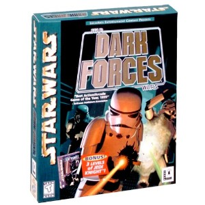 Star Wars: Dark Forces with 3-Levels of Jedi Knight (輸入版)