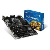 MSI H170A PC MATE ATXマザーボード MB3497 H170A PC MATE