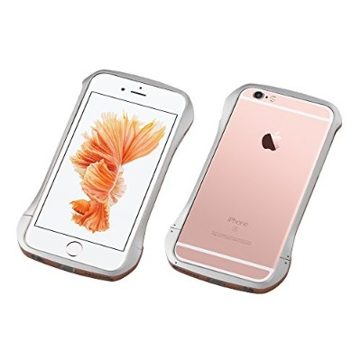 Deff アルミニウム バンパー CLEAVE Aluminum Bumper for iPhone 6s Limited Edition/DCB-IP6SWA6 (シルバー/ローズゴールド)