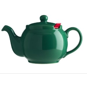 London Teapot Company-Chatsford 4-Cup Teapot with One Red Filter, Green by London Teapot Company