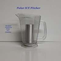 Polar Ice Pitcher with Aluminum Polar ICE Chamber PP1000CL
