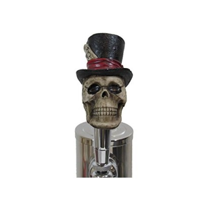 Lucky 13 Top Hat Sports Bar Beer Tap Handle Kegerator Resin Zombie Breweriana Bar by Kool Collectibl...