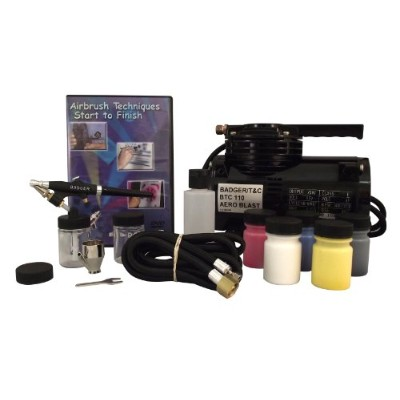 Badger Air-Brush Co. 314-SSWC Starter System with Compressor by Badger Air-Brush Co.